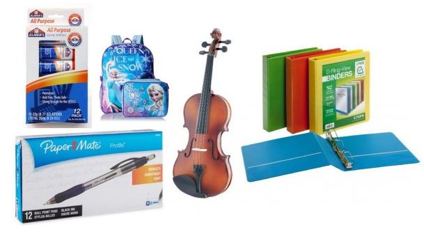 Shop The Back to School Deals at Amazon + Earn 5% Cash Back