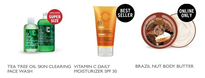 The Body Shop – Buy 3 Get 2 FREE & FREE Shipping + 8% Cash Back