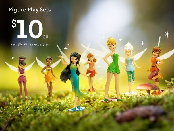 DisneyStore – Figure Play Sets for $10 Each + 3% Cash Back