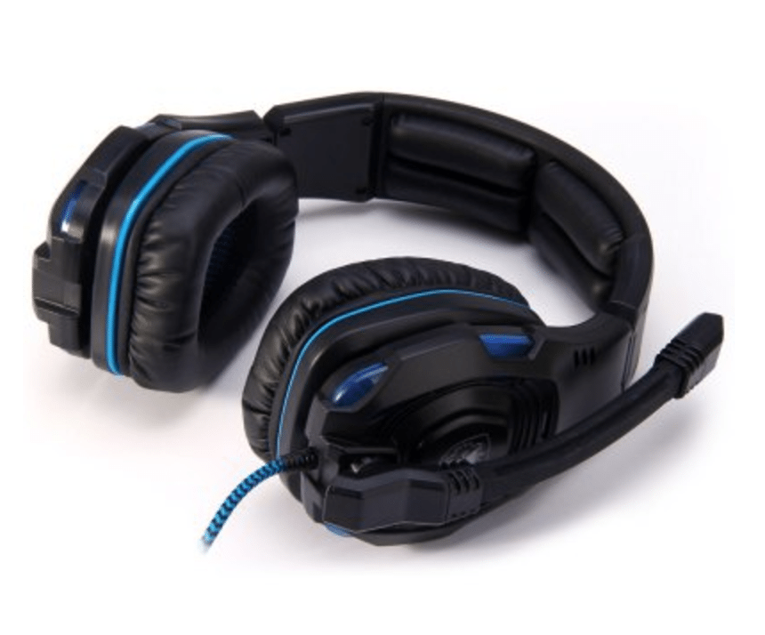Sades 7.1 Surround Sound USB Gaming Headset