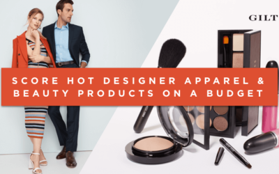 Hot Designer Apparel & Beauty Products On a Budget [Gilt]