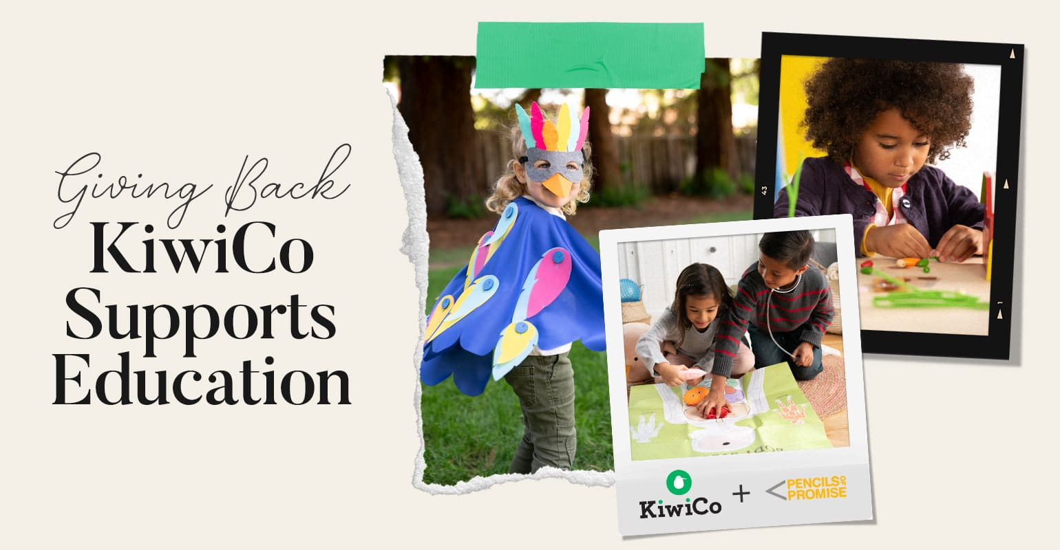 KiwiCo supports Education and Pencils of Promise