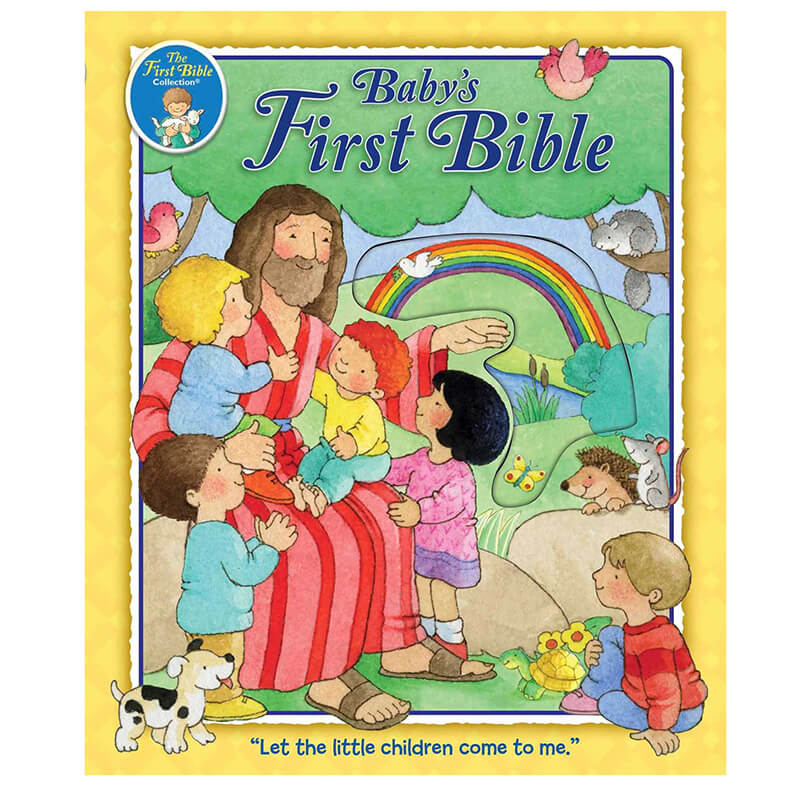 Book about Baby's First Bible