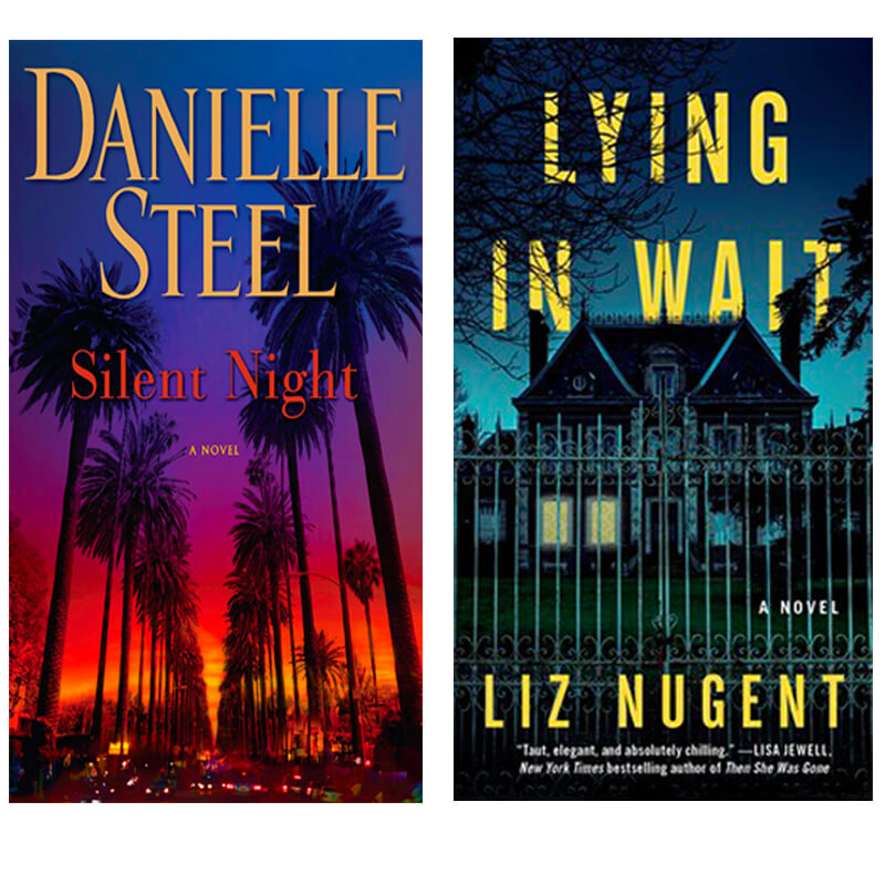 Books from Danielle Steel and Liz Nugent