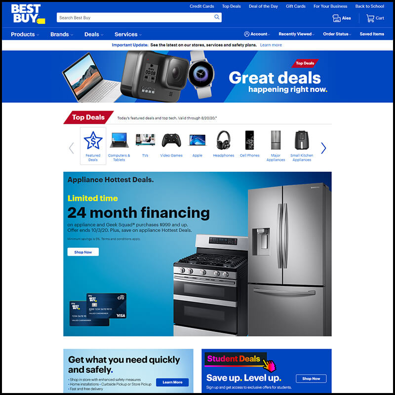 Best Buy end of summer season sale