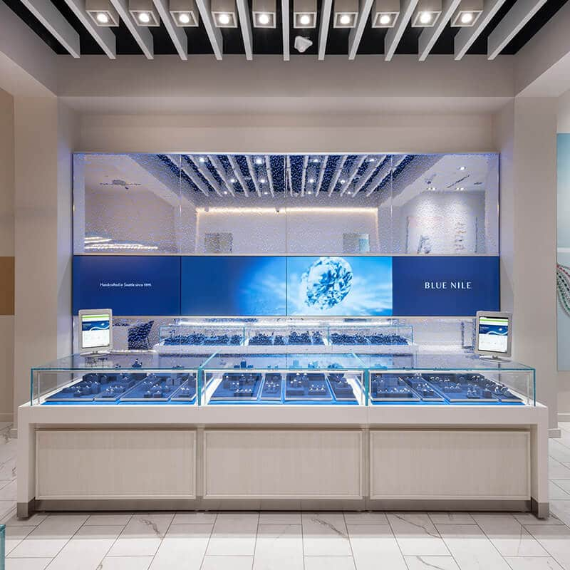Blue Nile Jewelry store