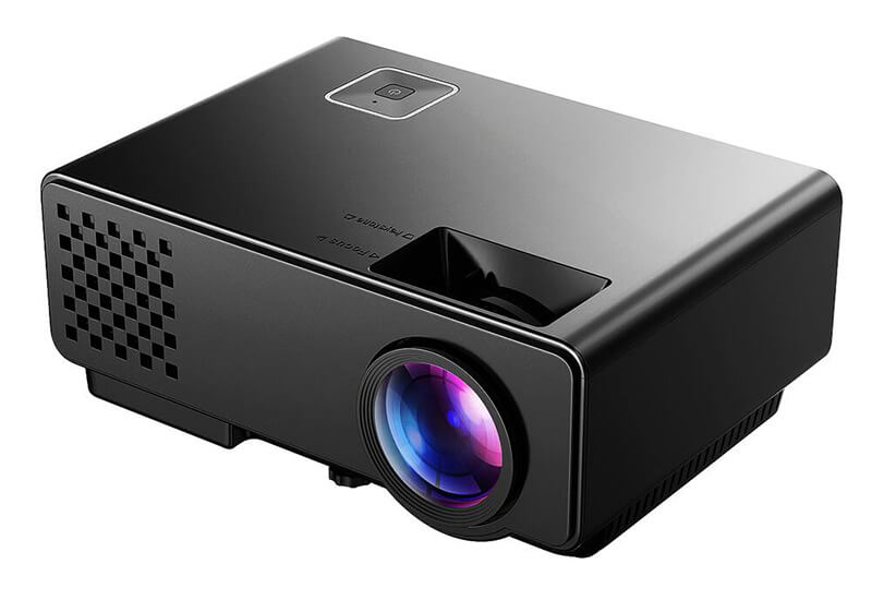 Mini video projector with build-in speaker