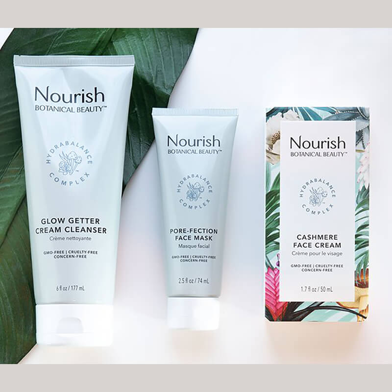 Nourish organic skin care set