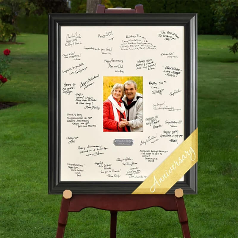 Signature frame designed