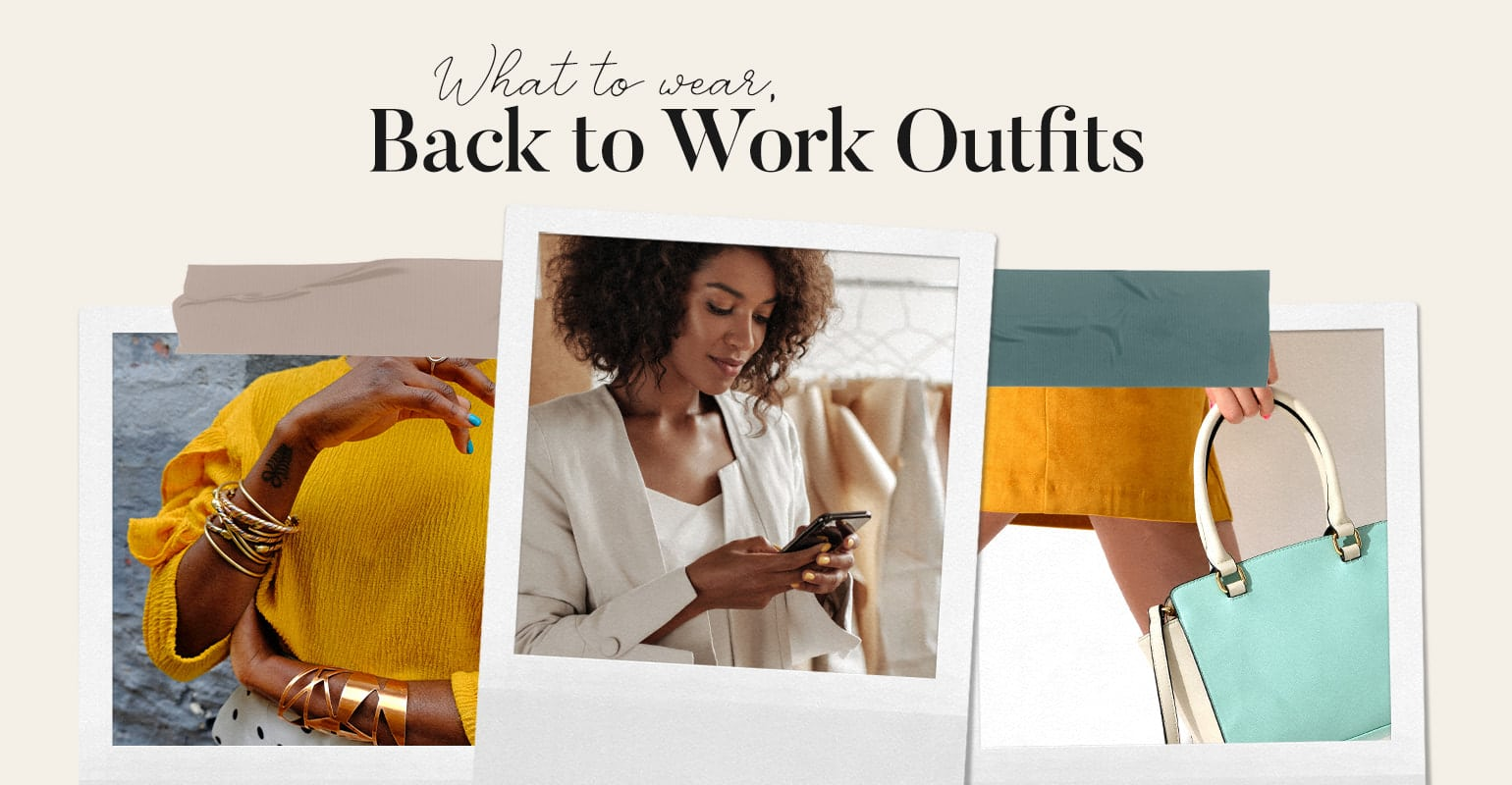 what to wear back to work outfits
